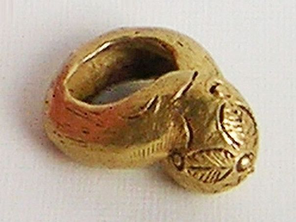 Ghanaian chief's ring - (3767)