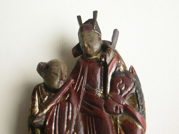 Dignitary, horse and boy with flute - (7415)